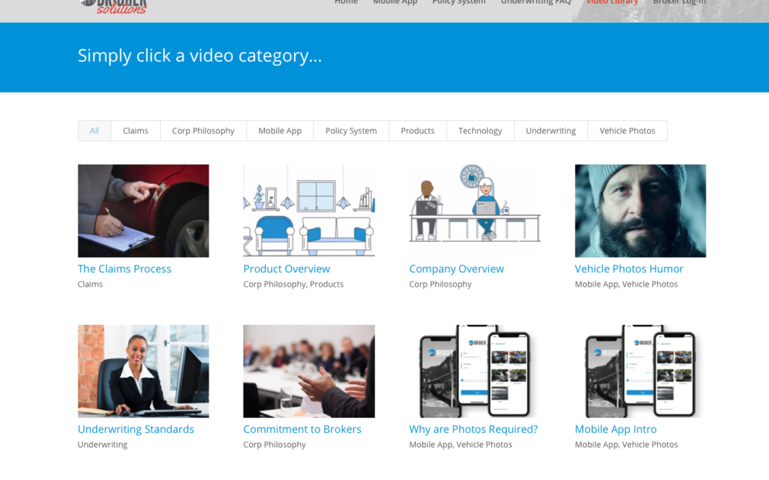 Bridger Solutions Activates Video Library