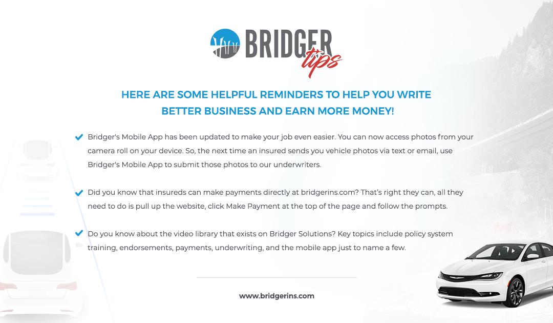Bridger Tips 5.21.19