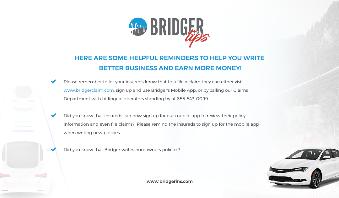 Bridger Tips 10.31.19